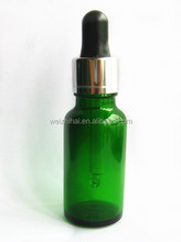 Green Olive Oil Glass Bottle