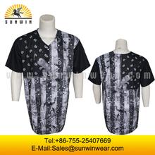 Custom softball/baseball uniforms/jerseys with buttons