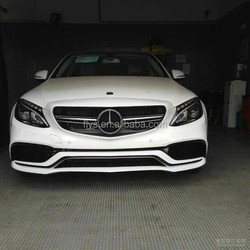 High Quality Best Selling New AMG C63 W205 body kit for Mercede-s Ben-z plastic material PP material