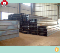 China standard size SS400 Steel H beam, competitive price and good service!