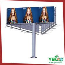 yeroo outdoor three sides frontlit billboard