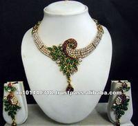 Kundan Diamond Polki Jewellery