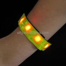 Roadway Safety Flashing LED Armband Flexible Running Light Armband