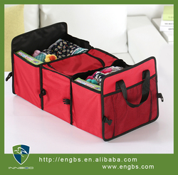High quality Car Boot Organizer Folding Storage Bag with Thermal Part