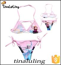 new arrival girls bikinis children bathing suits fashion swimwear bikini model