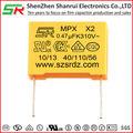 310v, mkp x2 condensador/mpx polipropileno metalizado película aprobaciones con seguro