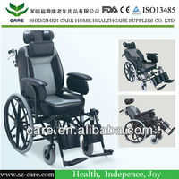 CARE-- Luxury Wheelchair with Recling High Back