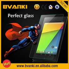 Cheap chinese laptops mobile accessories tempered glass screen protector for google nexus 7 version 2nd lcd with digitizer