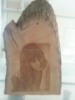 wood tree printing/engraving/etching/writing laser machine