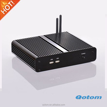 Mini pc without fan no noise 12V low power intel core i7 4500U processor intel HD 4400 Graphics 300M WIFI dual antennas