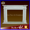 Hand carved indoor simple modern fireplace for sale