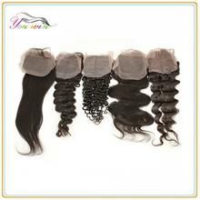 Brazilian human hair body wave lace closure ,cheap virgin brazilian lace closure hair