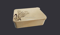 2015 new organic rice husk kid lunch box