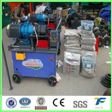 rebar thread rolling machine and coupler