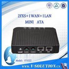 2 Ports FXS gateway, Voip ata 2 fxs ports