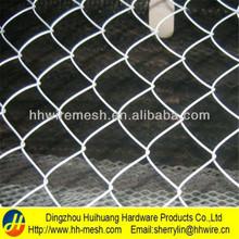 60*60mm, de alta 75*75mm recubrimiento de zinc eslabón de la cadena de malla de alambre utilizado para la esgrima