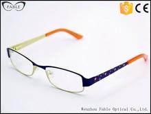 2015 trendy manufacturers full rim decoration temple optical glasses frames western brands online shopping