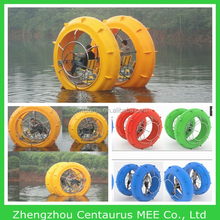 Hot selling attractive paddle boat/yacht/water bike with lowest price