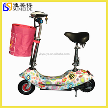 24V250W folding electric scooter with seat for kids, range to 30Km