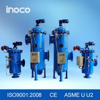 INOCO Auto filter for high filtration efficiency and easy clean and maintenance