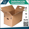 Manufactuer supplier OEM 3/5 strong material cardboard pet carriers box