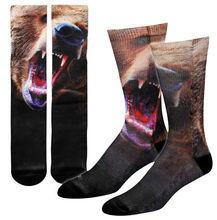 men wholesale custom basketball print sublimation socks