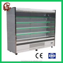 Salable upright big capacity refrigerators for flowers