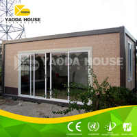 Heatproof prefabricated high rise steel container