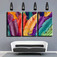 Wall art photo hot painting paris animals feather oil painting picture paintings of modern art home interior decorator wall art