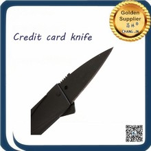 China alibaba great service Black credit card knife 500pcs in stainless steel Black credit card knife