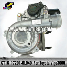 Toyota 1KD-FTV Engine CT16 17201-0L040/17201-30110 turbo for Toyota Hilux 3.0LD ViGO 3000 Diesel turbocharger