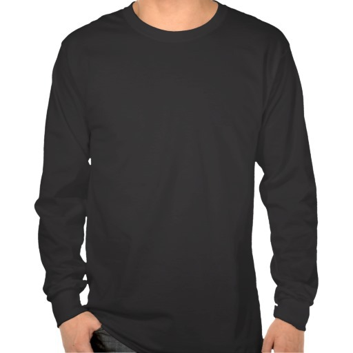 Long Sleeve Plain Black Shirt | Is Shirt