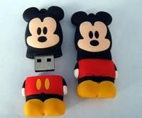 PVC Cartoon USB Flash Drive 2GB 4GB 8GB