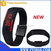 2015 water resist led fashion plastic watch