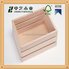 FSC,SA8000 and ISO9001 hot sale unfinished wooden toy chest