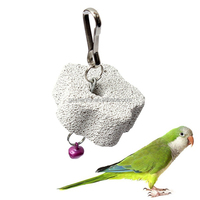 Wholesale Best price Parrot Mouth Grinding Blah Stone Bird Toy Molar Stone Cage Toys Parakeet Cockatiel Budgie Products