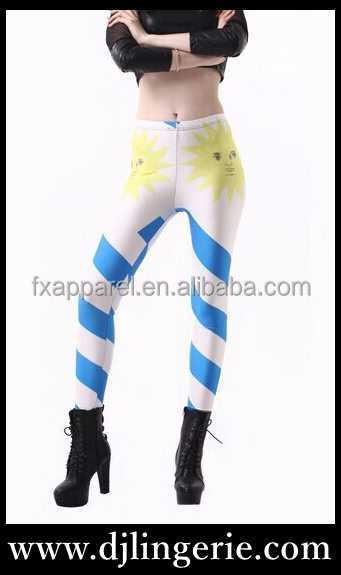 Uruguaiano bandiera 3d digitale stampata pantaloni legging Sml XL 2XL 3XL 4XL più il formato che legging