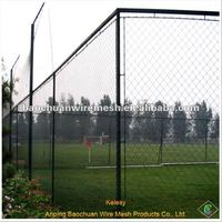 Galvanized sports court fence chain link fence