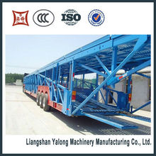 compactor,komatsu road roller container van trailer,,14.6m Car Carrier transportation semi trailer