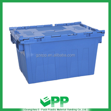 EPP-N550*370*320mm Custom Plastic PP storage stackable nestable box with lid making machine mamufacturer in China price