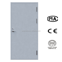 High quality simple design wood fire rated doors