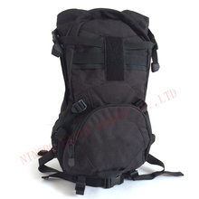 Hiking Backpack Black Tactical Bag for Outdoor Sports or Military