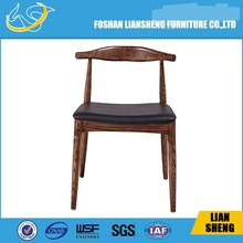 Natural Timber DCW Bend wood Dining Chair in foshan liansheng #A03