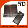 Manufacture Hot Selling Human Leather Travel Passport Wallet