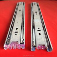 3 fold heavy duty furniture ball bearing drawer slide track