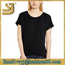 trendy design bulk custom blank t-shirt clothing,blank t shirt china wholesale