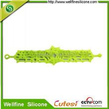 fashion hollow silicone bracelet 2012