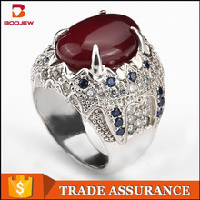 2015 new design rings silver jewelry rhodium plated ring exotic jewelry