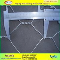 cheap decorative chicken wire / hexagonal wire mesh / stucco netting made in china