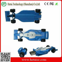mini race car style USB Flash Drive 8GB race car shaped usb pen drive for promotional gifts
